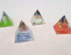 オルゴナイトを自分に必要なパワーストーンと色で作る♪